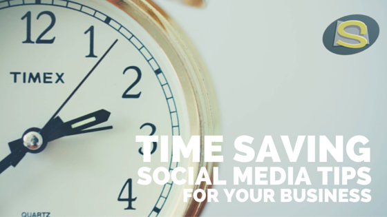 Time saving social media tips for your business BLOG