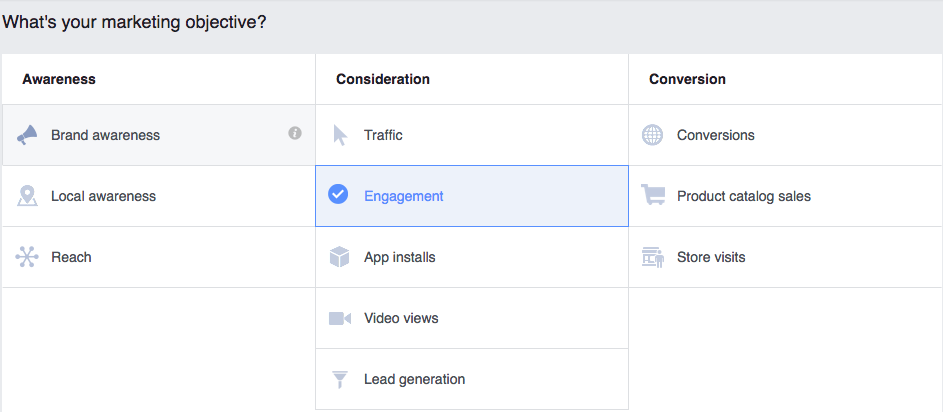 facebook campaign strategy