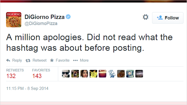 digiorno whyistayed apology tweet