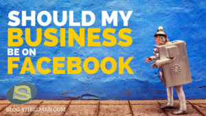 Should your business be on Facebook? Many business owners will ask themselves this question sooner or later. Read this so you can decide for yourself.
