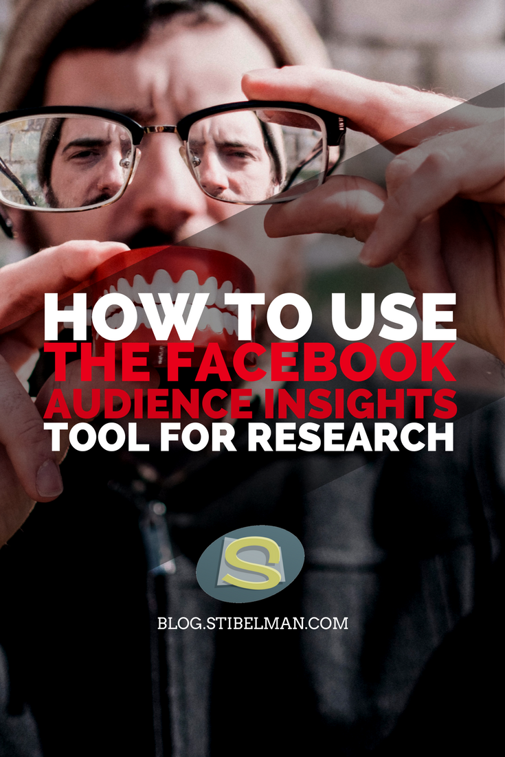 How to use the Facebook Audience Insights tool for research