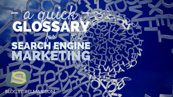 Un glossario sintetico sul Search Engine Marketing