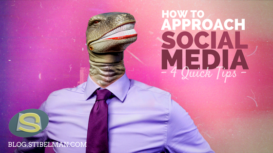 4 Tips how to approach social media