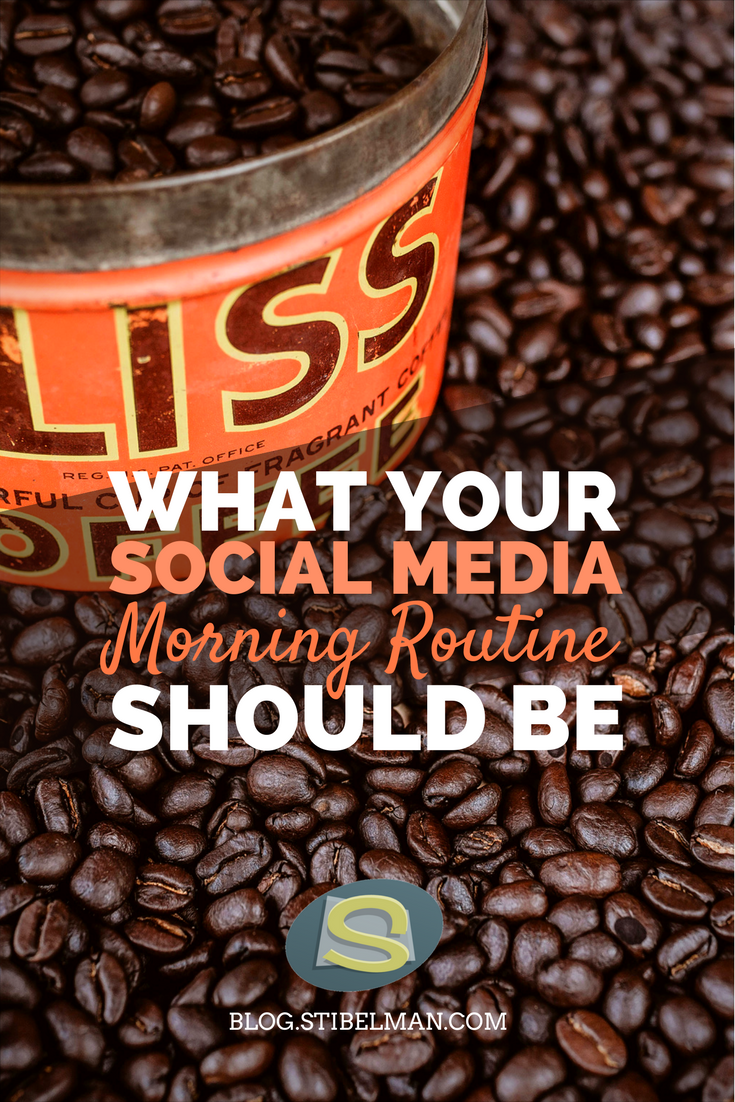 What your social media morning routine should be