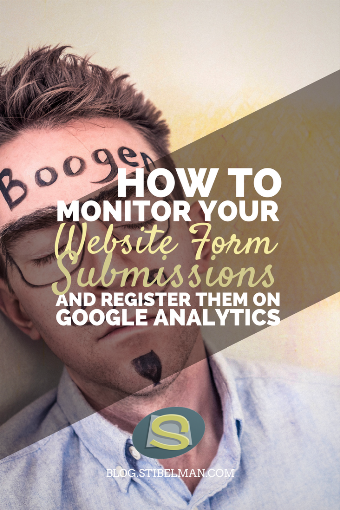 How to Monitor your Website Form Submissions and Register Them as Goals