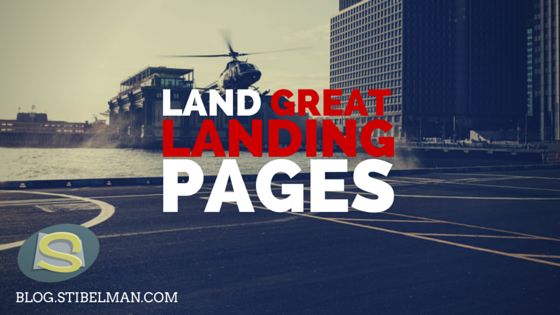 Land great landing pages