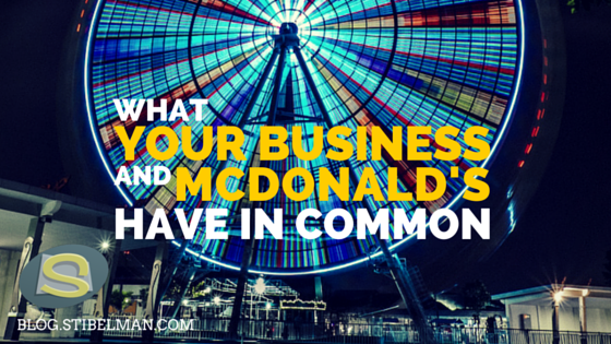 What you & McDonald's have in common – brand experience